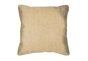 Throw Pillow in Sunbrella Flagship Stone 40014-0038