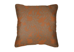 Throw Pillow in Sunbrella Leonardo Clay 45419-0001