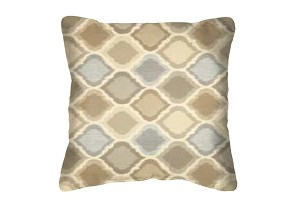 Sunbrella Throw pillow in Empire Dove 45837-0002