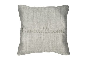 Sunbrella Throw pillow in Canvas Granite 5402