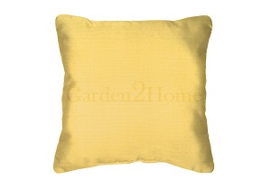 Sunbrella Throw pillow in Canvas Buttercup 5438