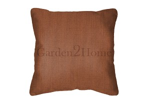 Sunbrella Throw pillow in Canvas Paprika 5451