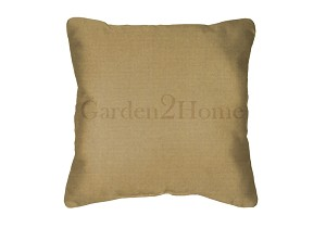 Sunbrella Throw pillow in Canvas Brass 5484
