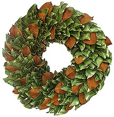 Wreath Dried Magnolia Original